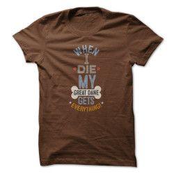 When I Die - Great Dane