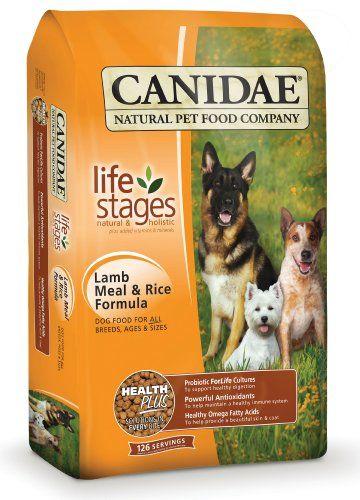 CANIDAE Étapes de la vie des aliments pour chiens à sec pour les estomacs sensibles