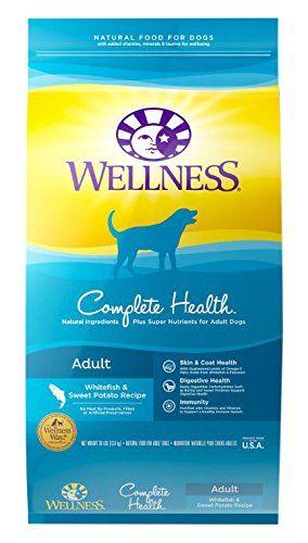 Bien-être complet Santé Whitefish aliments pour chiens pour les estomacs sensibles