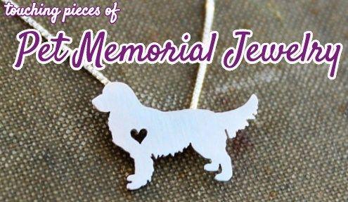 meilleur animal de compagnie de bijoux mémorial