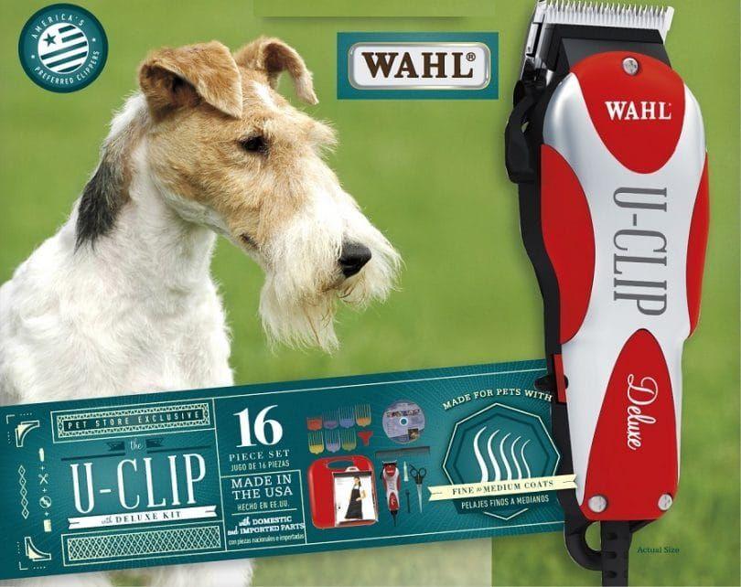 Wahl U-Clip Deluxe Accueil animal kit de toilettage