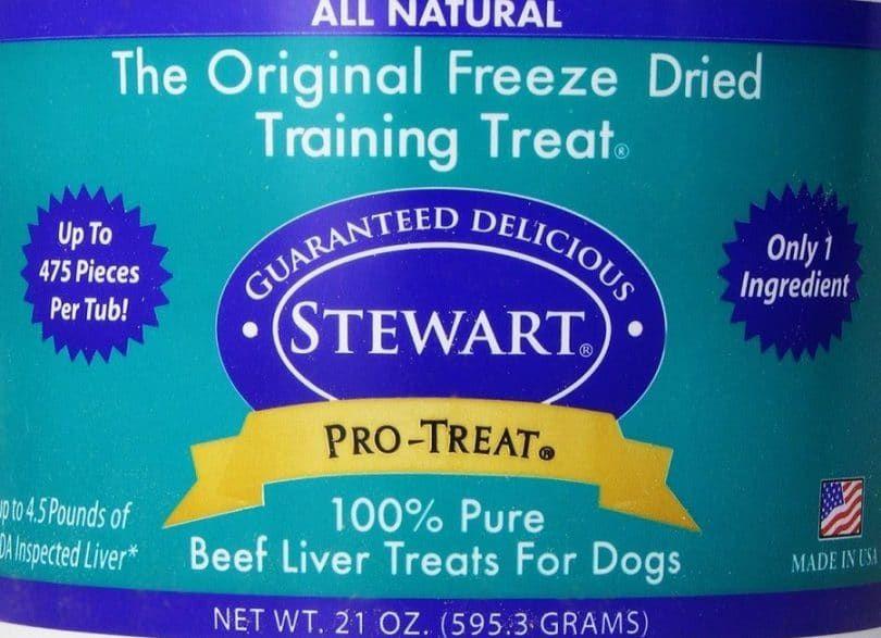 Stewart lyophilisé Treats 21 oz Foie de boeuf