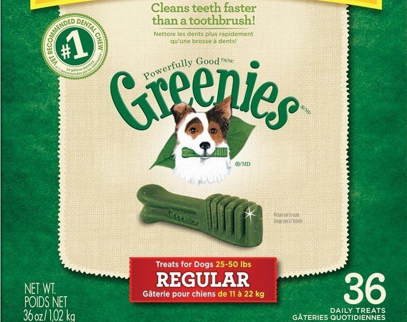 GREENIES Chews dentaires Treats réguliers pour les chiens