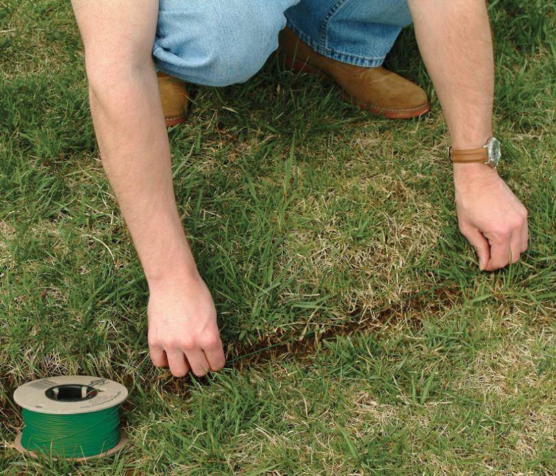 La mise en rez-de-chien clôture électrique
