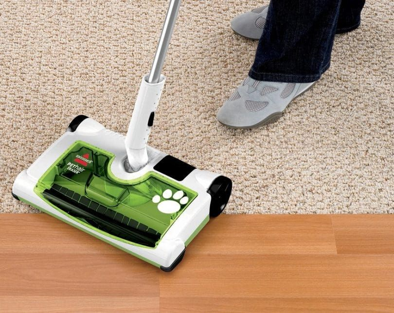 Bissell poils d`animaux effaceur rechargeable sweeper