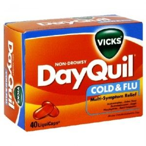 Puis-je donner mon chien DayQuil?