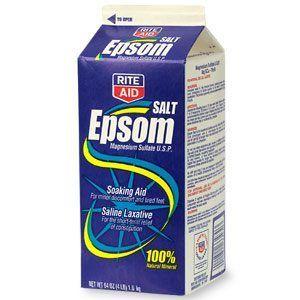 Puis-je donner mon chien des sels d`Epsom?