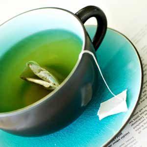 Puis-je donner mon chien le thé vert?