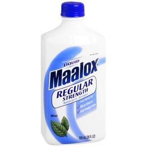 Puis-je donner mon chien Maalox?