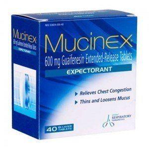 Puis-je donner mon chien Mucinex?
