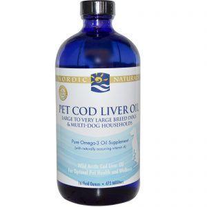 Cod huile de foie pour les chiens - avantages, la posologie et les meilleurs produits
