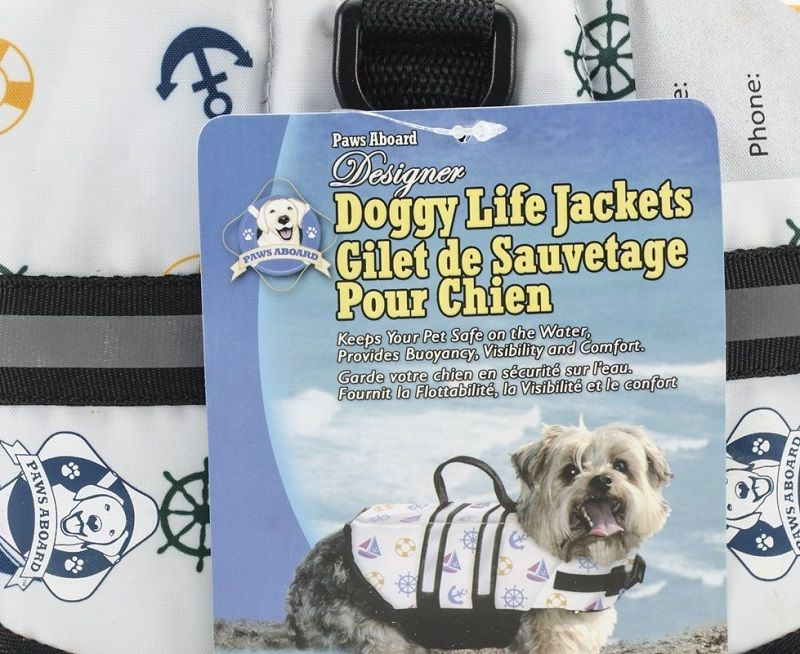 Paws Aboard 7-15 lbs chien Gilet de sauvetage nautique Extra Small