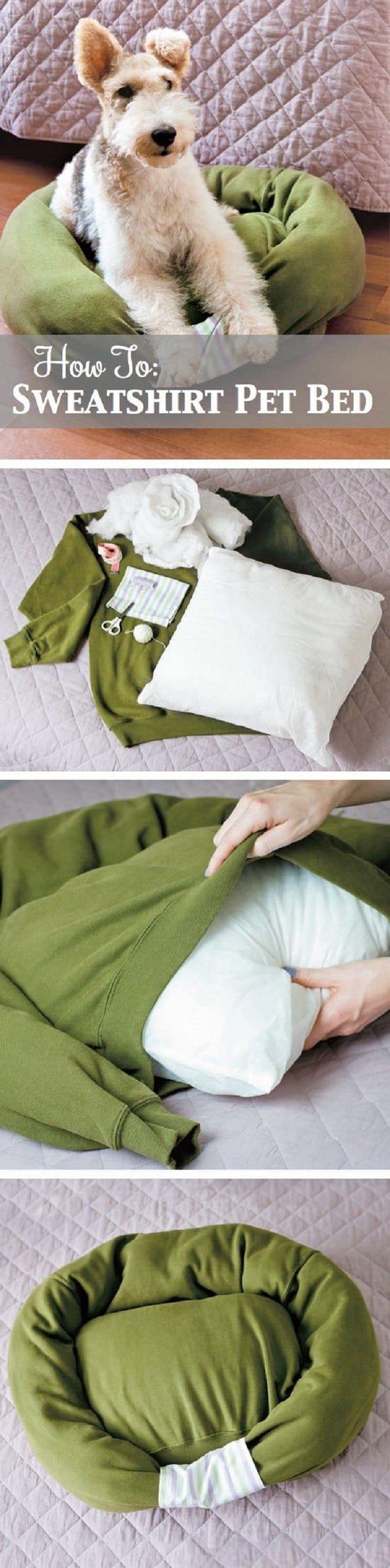 lit de chien Sweatshirt