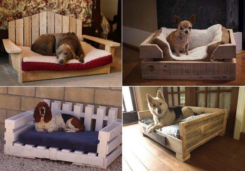 lits pour chiens faits maison