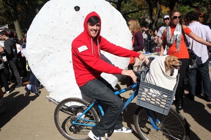 E.T. costume de chien