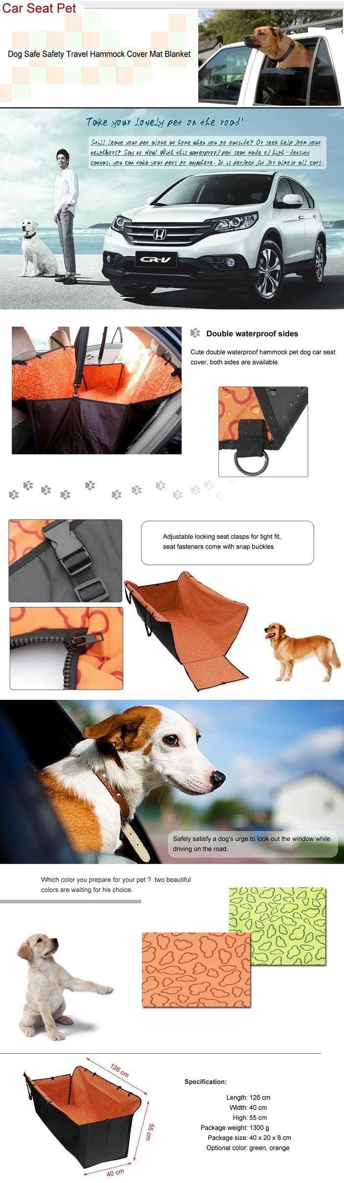 siège de voiture pour chien