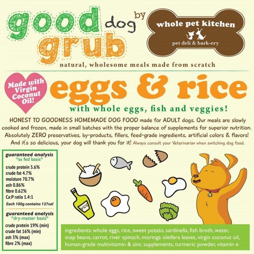 Nourriture pour chiens pour chien en bonne santé