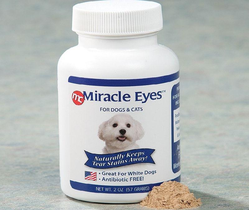 Produits pour les yeux des chiens