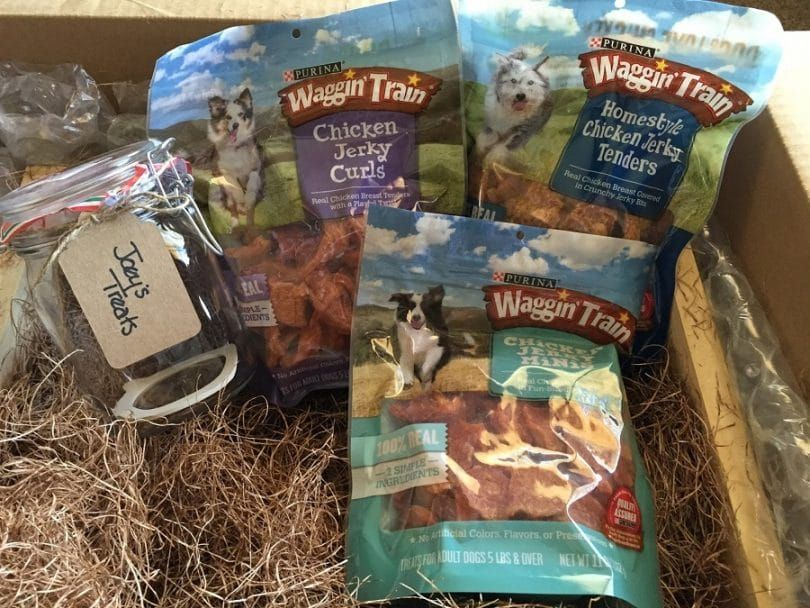 Purina Waggin train poulet Jerky Dog Treats