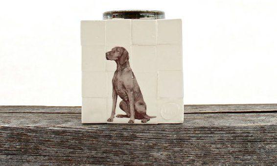 urne chien personnalisé