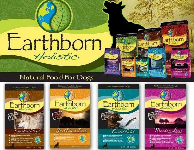 aliments pour chiens Earthborn