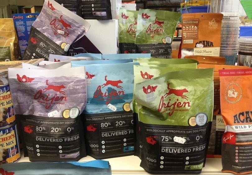 aliments pour chiens Orijen