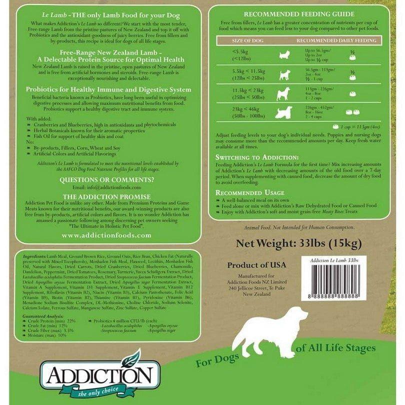 étiquette de chien de toxicomanie