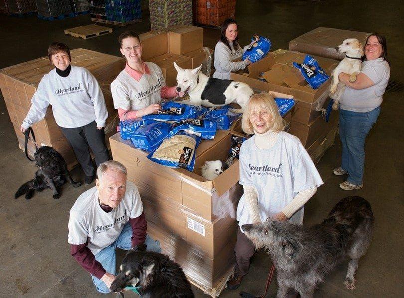 Aigle pack nourriture pour chien