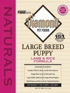 diamants naturels nourriture pour chien chiot