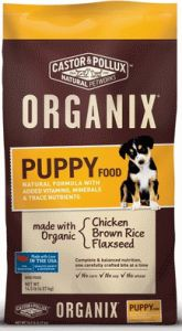 organix ricin pollux nourriture pour chiots