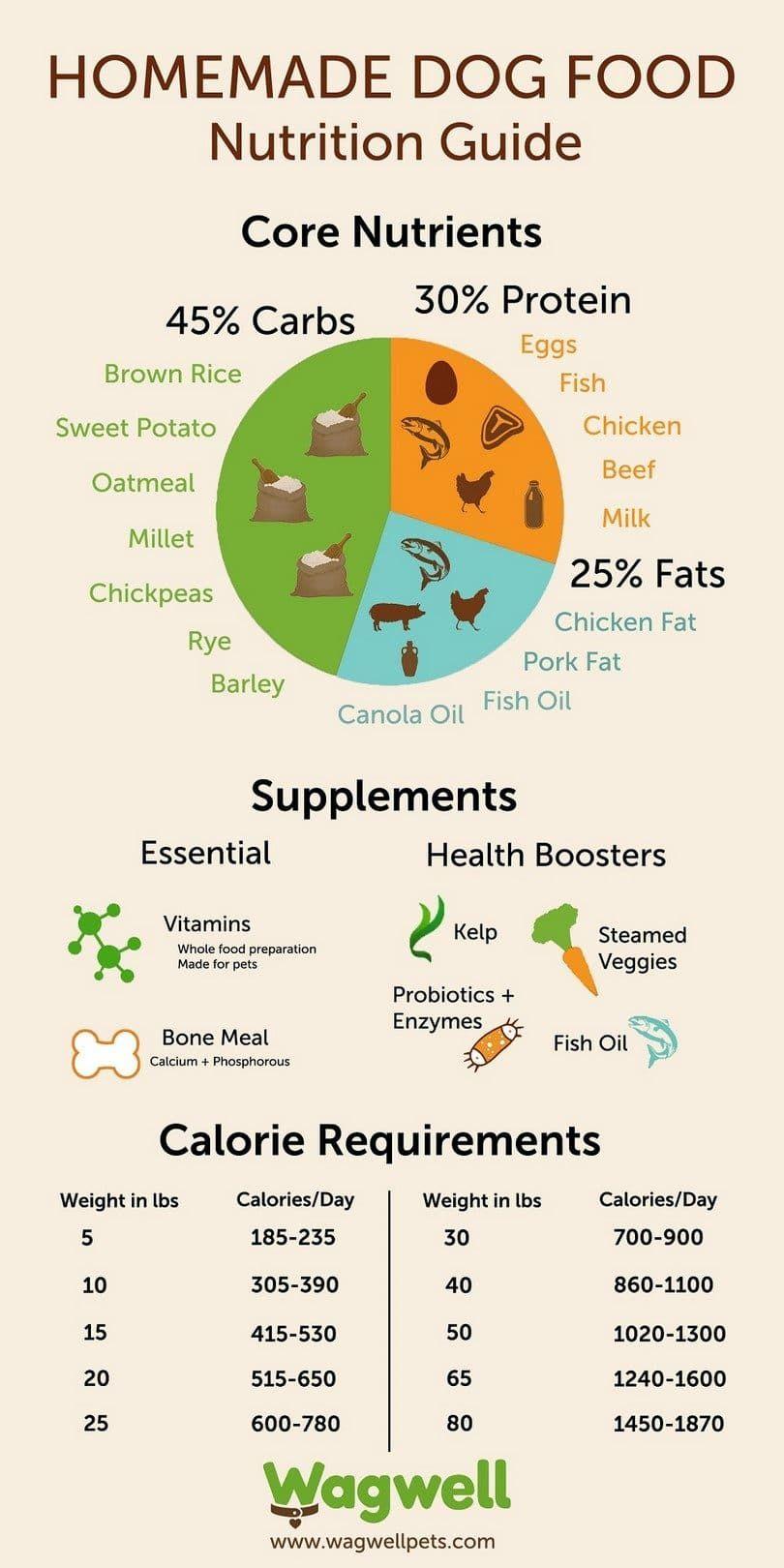 guide de nutrition Homemade