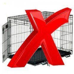 Quand ne pas utiliser une caisse - Big croix rouge sur une caisse