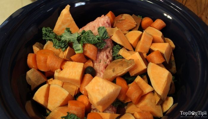 Boeuf et du porc Crock Pot Dog Food Recipe