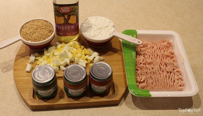 Poulet et riz Recette Dog Food