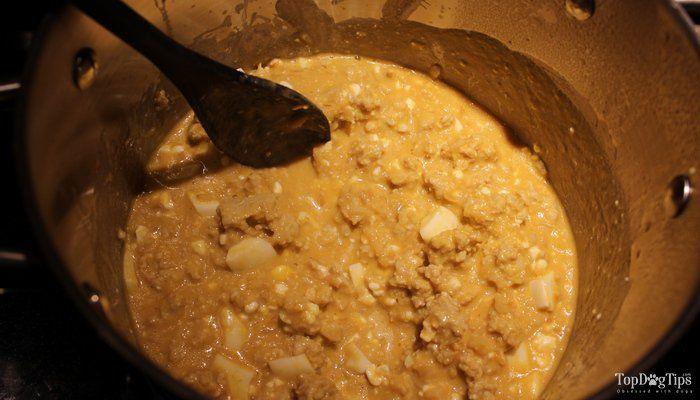 Poulet et riz Accueil Dog Food