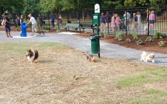 Les résidents et les propriétaires d`entreprise Opposez Louisiana Dog Park