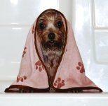 Review: luv & animaux secs la serviette de emma pour les chiens