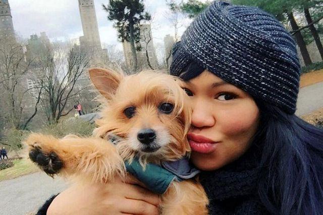 conducteur Uber refuse passager avec un chien de service avant d`attaquer, de blesser le chien